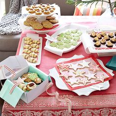 Ready to try something new? Host a cookie exchange party with one catch -- every recipe must be new! Mixing up the menu is a great way to sample a variety of new cookies and find your next favorite! Invite List: 10 Guest Type: Adventurous taste-testers