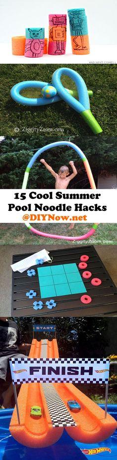 15 Cool Summer Pool Noodle Hacks