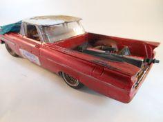 1959 El camino 1/24 scale model car in red by classicwrecks, $77.50