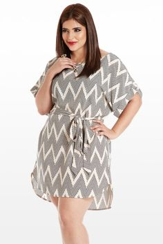 On the Dotted Line Zig-Zag Tunic