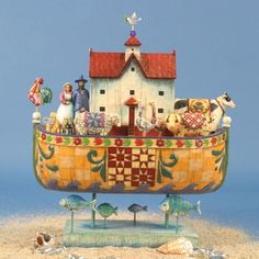 Noah's Ark (And Noah did all that the Lord commanded him) I keep this in my living room.
