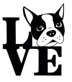 boston terrier clip art - Google Search                                                                                                                                                                                 More
