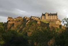 Edinburgh Castle in Scotland. http://www.kensingtontours.com/tours/europe/scotland/edinburgh-discovery