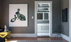 Sherwin Williams - Gray Matter - Love this gray...obsessed with gray.