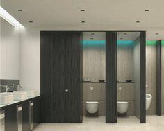 black toilet cubicle - Google Search