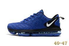 Nike 2019 KPU AIR MAX Sports Shoes Men Royal Blue Black 40-47