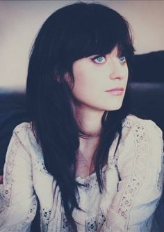 Oh Zooey. Your hair is forever dope.