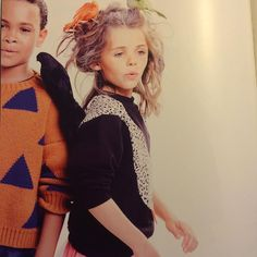 Thank you @babesta for the lovely images in your cool magazine #swansweatshirt #bangbangcopenhagen