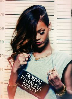 "Love this fan quote! -- ""Robyn Rihanna Fenty. She is a big inspiration. Love her."" 