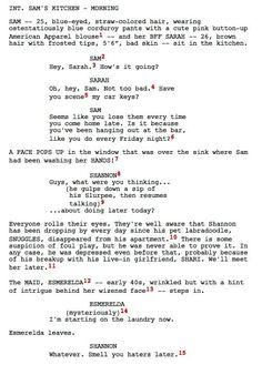 A Guide To Advanced Screenplay Formatting  FilmmakeriqCom