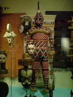 Liverpool, Museum, Africa, Nigeria, Masquerade Costume