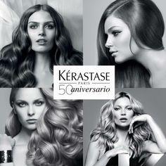 Elegancia, pureza y sofisticación son algunos de los valores que representa Kérastase. ¡Acércate a nuestros salones y celebra el 50 aniversario de Kérastase con nosotros! ©bepighiotti