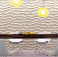 Habillage de mur, tête de lit, personnalisation de meuble, ... un grand nombre de possibilités s'offrent à vous avec les panneaux décors 3D ! Panneau Mural 3d, Decoration, Wall Signs, Wall Art, Stream Bed, Furniture, Decor, Decorations, Decorating