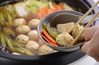 Chanko-Nabe is a famous dish that originated in Sumo wrestlers' kitchen. Cooking it themselves daily is customary. No wonder there are so many Chanko-Nabe restaurants owned by retired Sumo wrestlers in Japan. Here is one version of the basic recipe.