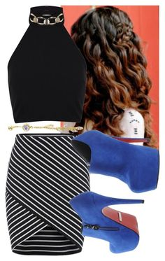 """""""Untitled #5614"""" by assexyaswesley ❤ liked on Polyvore featuring Miss Selfridge and PrimaDonna"""