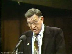 Dr. Walter Martin - Part 1 of 2 - Maze of Mormonism 1987 - YouTube