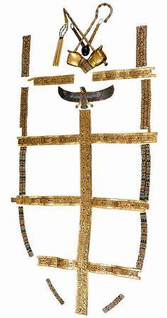 Trappings of King Tutankhamun's Mummy
