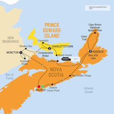Trafalgar Tours Nova Scotia And Prince Edward Island