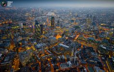 The City from above... so much to explore! Thanks Totally Cool Pix! http://totallycoolpix.com/2011/10/london-from-above/#