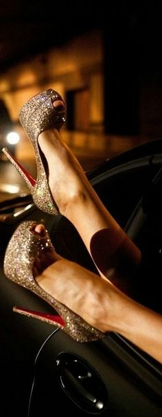 The most beautiful and iconic wedding shoes Red High Heels !