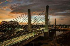 Ponte da Catumbela - Catumbela's Bridge - sunset - Benguela - Angola