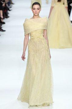 Elie Saab - Spring 2012 Couture.  Pastel Dress #2dayslook #jamesfaith712  #PastelDress  www.2dayslook.com
