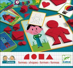 Djeco educatief vormenspel 3j