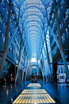 Allen Lambert Galleria, Brookfield Place; Toronto, Ontario, Canada