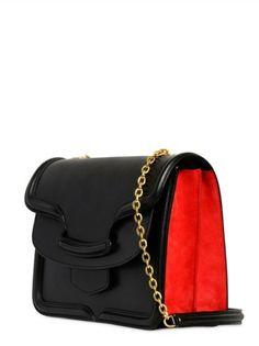 heroine medium leather satchel bag blush alexander mcqueen   Shoulder bags Alexander McQueen Shoulder bags