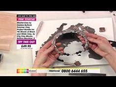 ▶ Masterclass with Debbie Bulford - Polymer Clay Collars | JewelleryMaker - YouTube