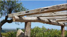 Pergola bontott gerendákból Attraktív kocsibeálló, természetes fából!  - pergola  - lugas