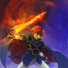 Roy - Fire Emblem fan art
