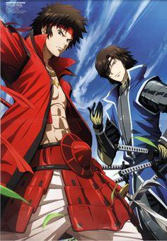 Sengoku Basara - Date Masamune & Sanada Yukimura (from right to left)