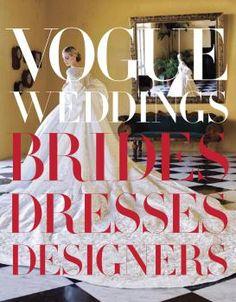 Livro Vogue Weddings