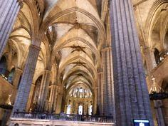 Basílica de la Santa Cruz y Santa Eulalia / Catedral de la Santa Creu i Santa Eulàlia  / Catalunya #España