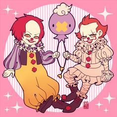 Horror Comics, Funny Comics, Funny Snapchat Stories, Pokemon, Dancing Drawings, Funny People Pictures, Le Clown, Pennywise The Dancing Clown, Anime Galaxy