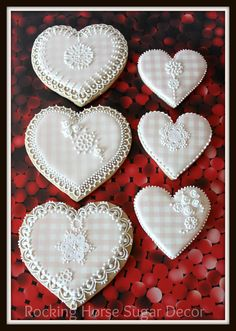 Gingham Hearts | Cookie Connection