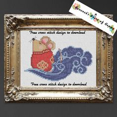 Happy Chinese New Year! Free Chinese New Year Rat Cross Stitch Pattern