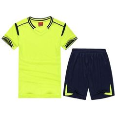 cd40b93af Unisex Soccer Jerseys Yellow   Blue (Sizes S-XXXL) Football Cleats