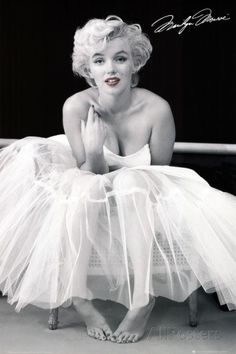 Marilyn Monroe in a tutu. | 21 Things You Will See In Every College Dorm Room