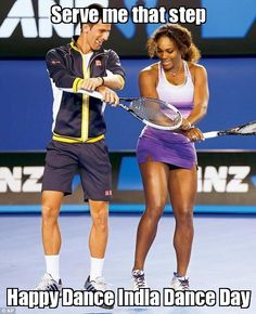 Tennis sex humor
