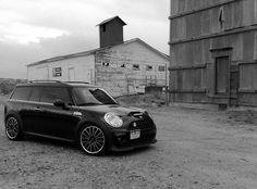 Mini cooper clubman, all black, black edition, bmw