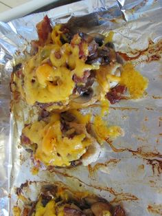 Trim Healthy Mama: Fuel Cycle Day 3 **Chicken with bacon, cheese, and wine soaked mushrooms!