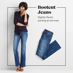 Bootcut are pretty much my go tto jean / Stitch Fix Fall Denim 2016