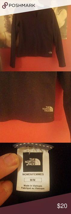 Nice ladies black North Face fleece. Really nice black ladies North Face fleece. North Face Tops Sweatshirts & Hoodies