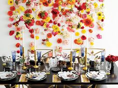 Alice + Olivia's Stacey Bendet Shares Her Top Tips for Decorating Your Reception Table