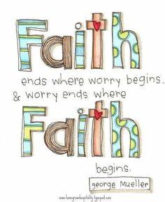 worry/faith