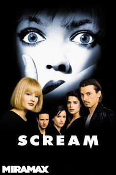 Scream Poster Artwork - David Arquette, Neve Campbell, Courtney Cox - http://www.movie-poster-artwork-finder.com/scream-poster-artwork-david-arquette-neve-campbell-courtney-cox/