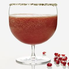 Aphrodisiac Margarita - This version combines passion fruit and pomegranate, commonly associated with Aphrodite, the goddess of love. http://www.foodandwine.com/recipes/aphrodisiac-margarita-cocktails-2009