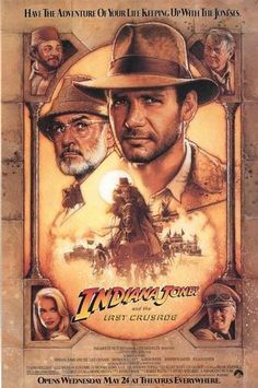Harrison Ford AND Sean Connery...what more can a girl ask for?